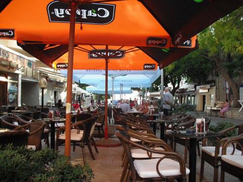 Beach Restaurant Zrce, Croatia