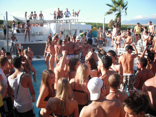 The beach parties in Novalja are probably among the best in the world which you could be part of this summer!