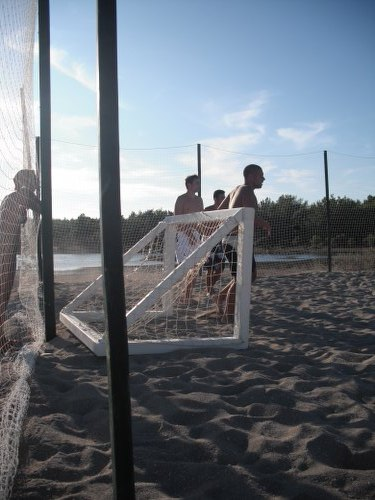 Beach football is just one of an endless list of activities which are possible in Novalja